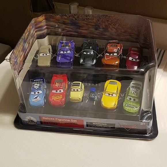 Disney Other - Disneys Cars deluxe figurine set 11 characters 3+